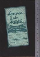 Calendrier Carnet - 1941 - Spécialités Médicales Genneau - - Calendriers