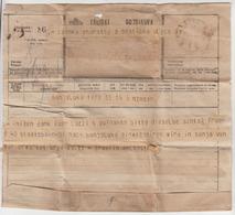 Hungary - Croatia, Telegram Távirat Brzojavka 1918 Zagreb B180301 - Télégraphes