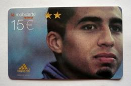 Mobicarte Recharge -  DAVID TREZEGUET  -  Football - ADIDAS - 350 000 Ex. - Sport