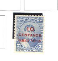 Rep.Dominicana Special Del. 1935 Merino Surch.  Scott   Nuovo See Scan On Scott.Pages - Dominican Republic