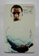 Mobicarte Recharge COLLECTOR  - LE BALLON  -  Football - 100 000 Ex. - Sport