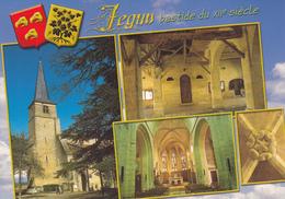 32  JEGUN / MULTIVUES /  BLASON - France