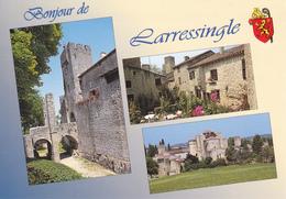 32  LARRESSINGLE  / MULTIVUES /  BLASON - - France