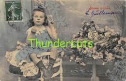CPA FILLE JEU DE CARTES GIRL PLAYING CARDS - Cartes à Jouer