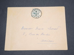 FRANCE - Timbre De Grève De Amiens Sur Enveloppe En 1909 - L 14463 - Strike Stamps