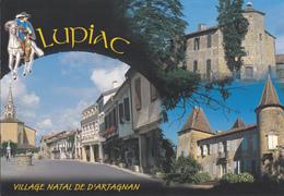 32 LUPIAC / MULTIVUES / VILLAGE NATAL DE D'ARTAGNAN - France