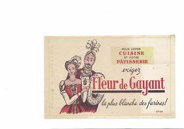 BUVARD FLEUR DE GAYANT - Buvards, Protège-cahiers Illustrés