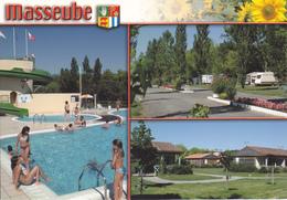32 MASSEUBE / MULTIVUES / BLASON / PISCINE / CAMPING - France