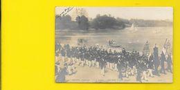PORT BRILLET Carte Photo Une Fête Peinture De L. Royer Salon 1901 (SIP) Mayenne (53) - France