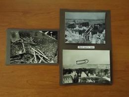 WW2 GUERRE 39 45 PORT LOUIS LORIENT VILLE BOMBARDEE VOIR SCANS - Port Louis