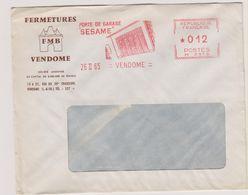 EMA - Porte De Garage - Vendome - Loir Et Cher - Marcophilie (Lettres)