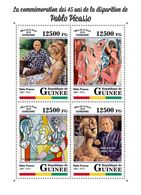 GUINEA 2018 - Pablo Picasso. Official Issue - Picasso