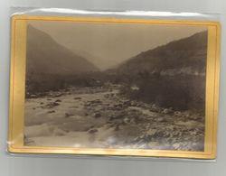 Photographie 1884 Savoie 73 Vue Prise Du Pont De Glandon Route St Jean De Maurienne Photo Format Cabinet - Oud (voor 1900)
