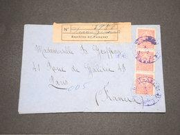 PARAGUAY - Enveloppe En Recommandé De Paraguari Pour La France - L 14474 - Paraguay