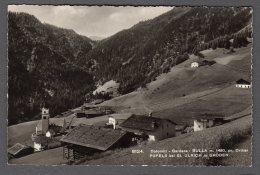 BULLA Ortisei PUFELS St. Ulrich In Gröden FP NV  SEE  SCAN - Italia
