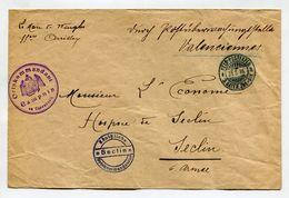 !!! PRIX FIXE : ARMEE BAVAROISE, LETTRE DU 31/5/1916 DE CAMPHIN EN CAREMBAULT POUR SECLIN - Postmark Collection (Covers)