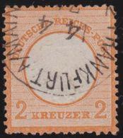 Deutsches  Reich    .      Michel   8       .          O        .        Gebraucht  .   /   .      Cancelled - Deutschland