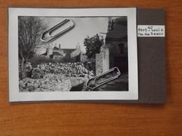 WW2 GUERRE 39 45 PORT LOUIS LORIENT VILLE BOMBARDEE BOMBARDEMENT  RUE DES DAMES - Port Louis