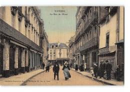 CPA 56 Vannes La Rue Du Mené - Vannes