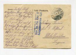 !!! PRIX FIXE : ARMEE BAVAROISE, 5E DIV, CPA DE LENS DU 30/8/1916 - Postmark Collection (Covers)