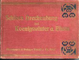 Map SCHLOSS DRACHENBURG (Duitsland) Uit 1907 (geen Postkaarten) - Drachenfels