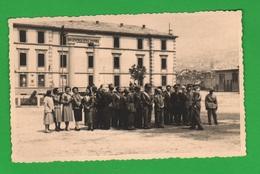 Aosta Caserma Testafochi Foto Generale Alpini E Militari 1949 - Places