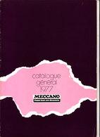 CATALOGUE GENERAL 1977 MECCANO - Meccano