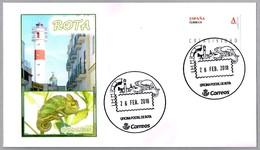 Matasellos Turistico De Rota - CAMALEON - CHAMELEON. Rota, Cadiz, Andalucia, 2018 - Reptiles & Anfibios