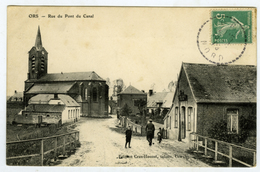 ORS Rue Du Pont Canal - France