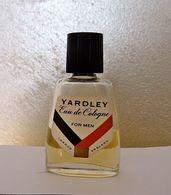 """Ancienne Miniature """"YARDLEY"""" Eau De Cologne For Men  10 Ml Sans Boite - Vintage Miniatures (until 1960)"""