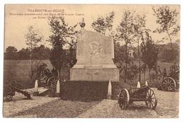 77 SEINE ET MARNE - VILLENEUVE SUR BELLOT Monument Commémoratif Aux Morts ..... - Autres Communes