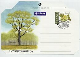 ALAND 2007 Aerogramme Unused, Cancelled With First Day Postmark - Aland