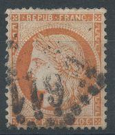 Lot N°41378   N°38, Oblit GC 611?, Bel Indice - 1870 Siege Of Paris