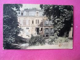 Cpa Colorisée_NOGENT Sur SEINE_Villa_ Le Mont Buisson - Voyagé En 1913 - Nogent-sur-Seine