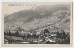 Megève - Vue Sur Le Christomet - Megève