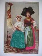 CPA  Costume Alsacien - Costumes