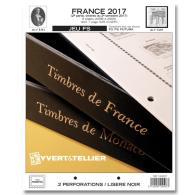 Jeu France Yvert Et Tellier FS 2017 - 2ème Partie - Vordruckblätter