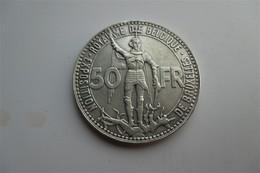 Belgique 50 Francs 1935 Wereldtentoonstelling FR - 08. 50 Francos