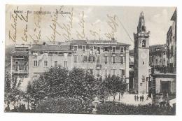 LERICI - LA PASSEGGIATA -  S.ROCCO - 1917 VIAGGIATA FP - La Spezia