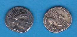 GRECIA ANTIGUA  AMPURIAS (GIRONA)   EMPORITON DRACMA-PLATA 220-150 A.C.  Réplica  SC/UNC    DL-12.099 - Griegas