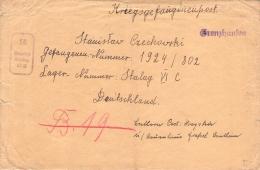 Kriegsgefangenen Post Stalag VI C Böhmen & Mähren - Briefe U. Dokumente