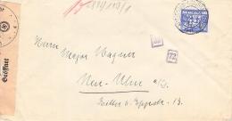 Zensurbrief Amsterdam>Neu-Ulm 18.XII.1941 - Covers & Documents