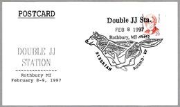 Double JJ Station - Siberian Round-up - Perro - Dog. Rothbury MI 1997 - Perros
