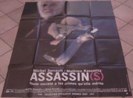 AFFICHE CINEMA ORIGINALE FILM ASSASSIN ( S ) Mathieu KASSOVITZ Michel SERRAULT TBE 1997 - Affiches & Posters