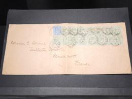 GRANDE BRETAGNE - Enveloppe De Brockley Pour La France En 1905 , Bel Affranchissement - L 14504 - Postmark Collection