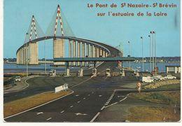 SAINT NAZAIRE    PONT DE ST NAZAIRE ST BREVIN SUR   L ESTUAIRE DE  LA  LOIRE   (PEAGE ) - Saint Nazaire