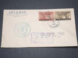 PHILIPPINES - Env. Commercia De Manille En 1943 Avec Censure Japonaise, Affranchissement Occupation Japonaise - L 14505 - Philippines