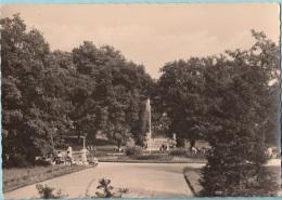 DDR Germania  Frelberg (Sa.)  Springbrunnen Im Scherlngerpark - Cartoline