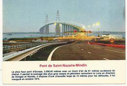 44   SAINT NAZAIRE    PONT DE ST NAZAIRE MINDIN    (PEAGE ) - Saint Nazaire