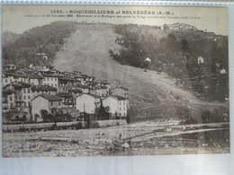 ROQUEBILLIERE ET BELVEDERE  CATASTROPHE DE 1926 - Roquebilliere